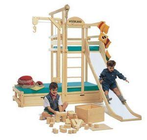 Woodland -  - Hütte Bett Für Kinder