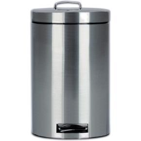 Corby - pedal bins 3 litre brushed steel (case qty 6) - Küchenabfalleimer