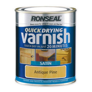 Ronseal - ronseal quick dry varnish -