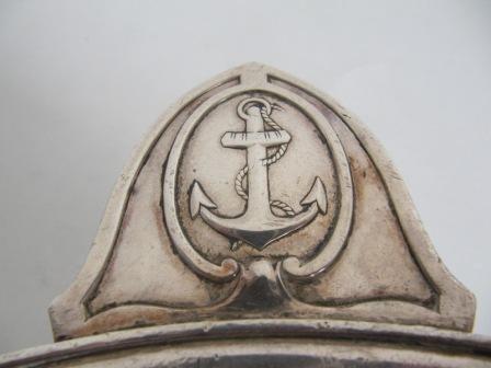 JD PRO - Salatschüssel-JD PRO-Saladier ERCUIS pour la Marine en métal argenté