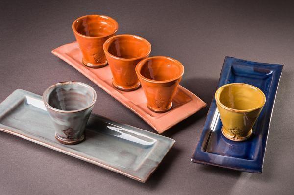 Barbotine - Kaffeetasse-Barbotine