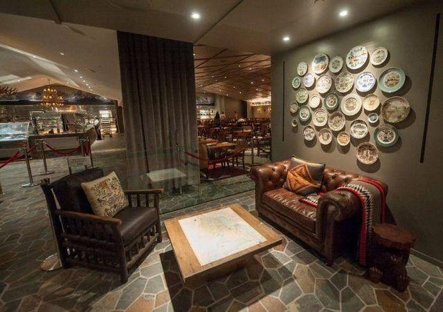 NIDO - Architektenentwurf bars restaurants-NIDO-The Buffet at SLS