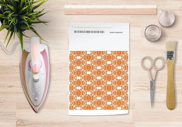 la Magie dans l'Image - Verlegung-la Magie dans l'Image-Papier transfert African Orange
