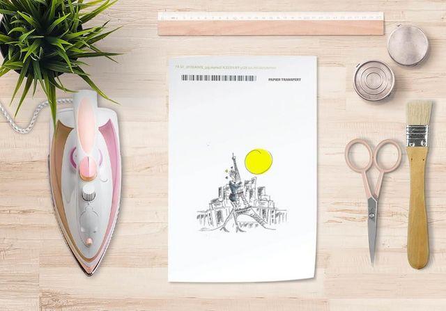 la Magie dans l'Image - Verlegung-la Magie dans l'Image-Papier transfert Paris