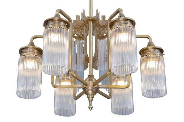 PATINAS - Kronleuchter-PATINAS-Triest 6 armed chandelier