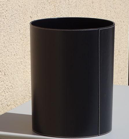 MIDIPY - Papierkorb-MIDIPY-Cuir Noir