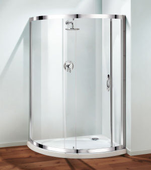 Coram Showers - Duschwand-Coram Showers-Premier Crescent