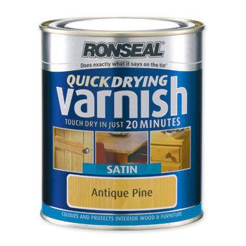 Ronseal - -Ronseal-Ronseal Quick Dry Varnish