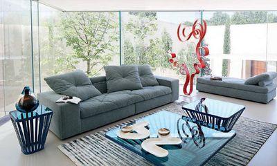 ROCHE BOBOIS - Sofa 3-Sitzer-ROCHE BOBOIS-Discours