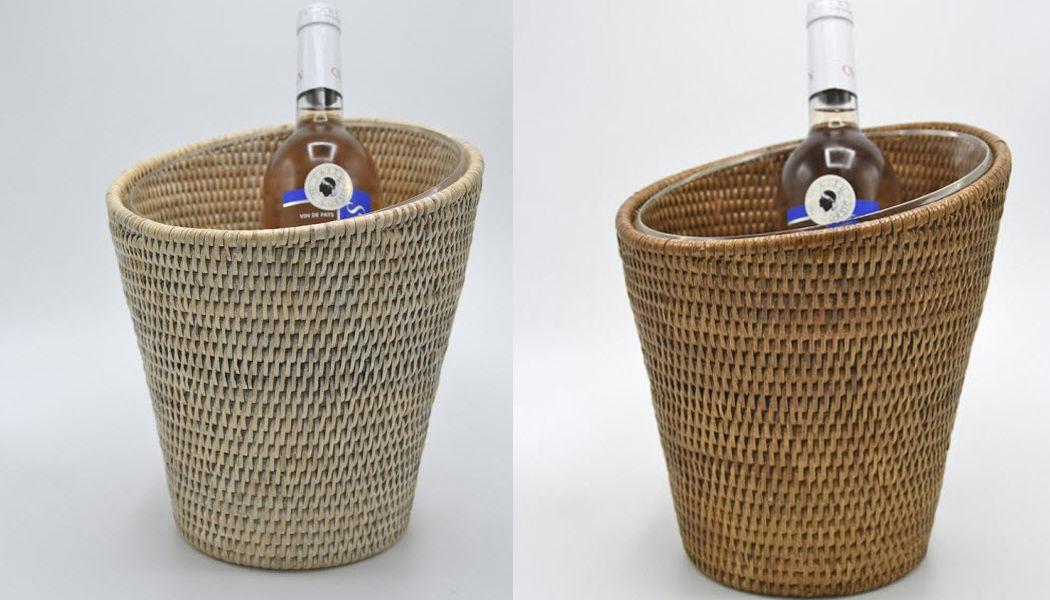 ROTIN ET OSIER Cubo de champagne Enfriadores de bebidas Mesa Accesorios  |