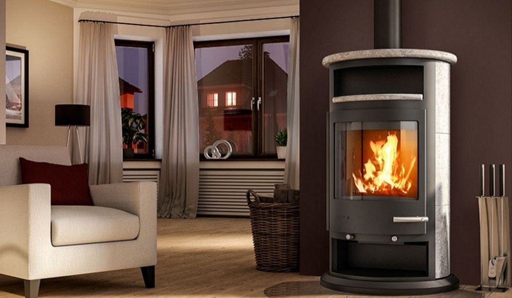 DROOFF Estufa de madera Estufas e instalaciones de calefacción Chimenea   