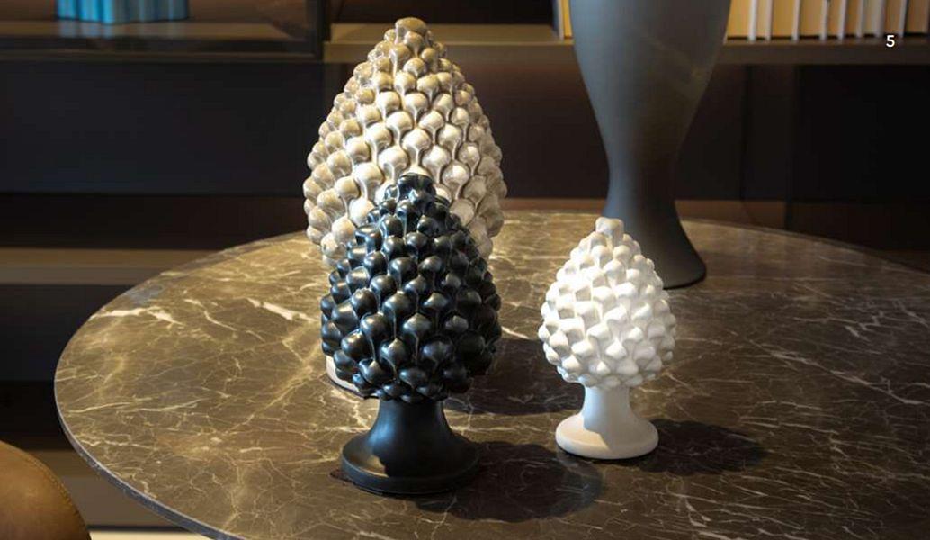AGAREN Piña de pino Frutas decorativas Objetos decorativos  |