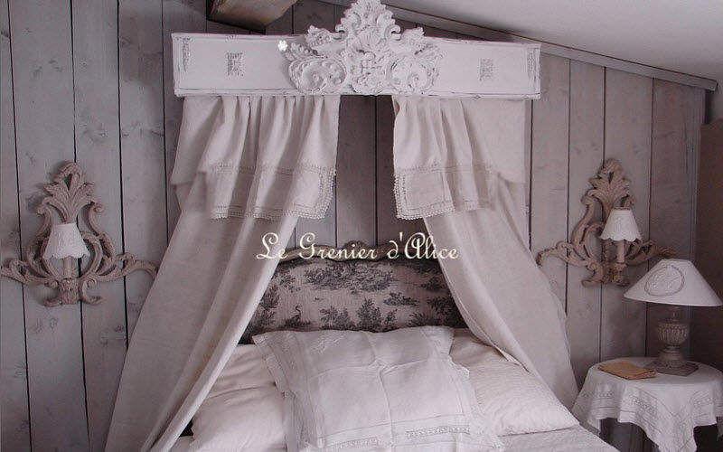 Le Grenier d'Alice Cielo de baldaquino Varios dormitorio Camas Dormitorio   Rústico