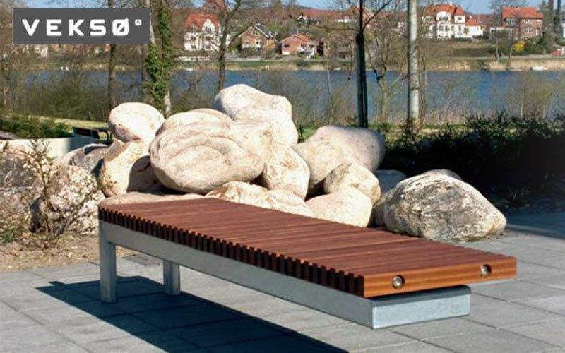 Veksø Banco urbano Bancos Jardín Mobiliario Espacios urbanos | Ecléctico