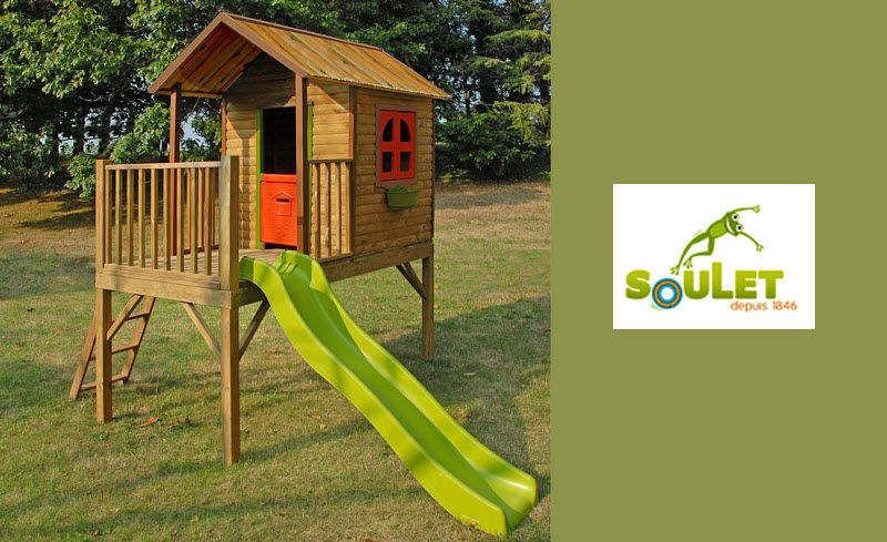 SOULET Casa de jardín niño Juegos al aire libre Juegos y Juguetes  |