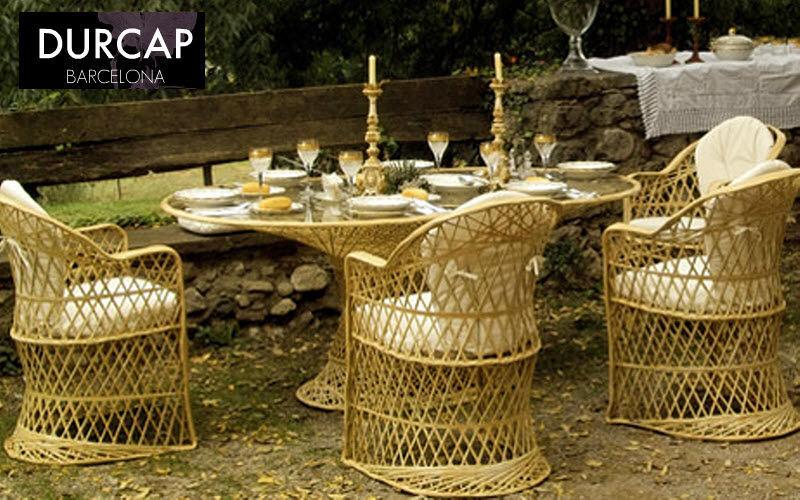 DURCAP Comedor de exterior Mesas de jardín Jardín Mobiliario  |