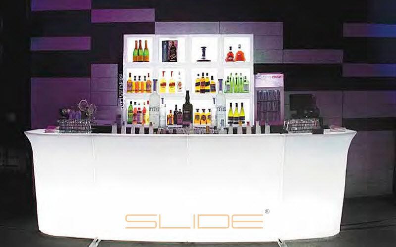 Slide Barra de bar luminosa Bar Mesas & diverso  |