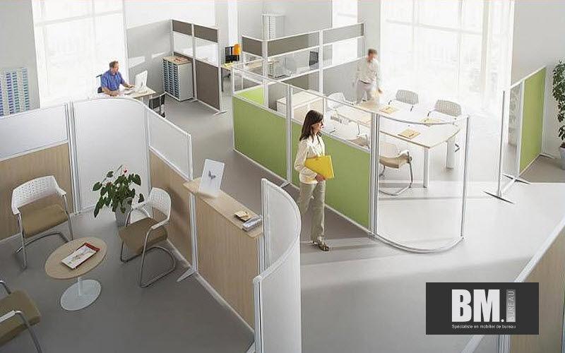 BM Bureau Tabique móvil Tabiques y paneles acústicos Paredes & Techos Lugar de trabajo | Design Contemporáneo