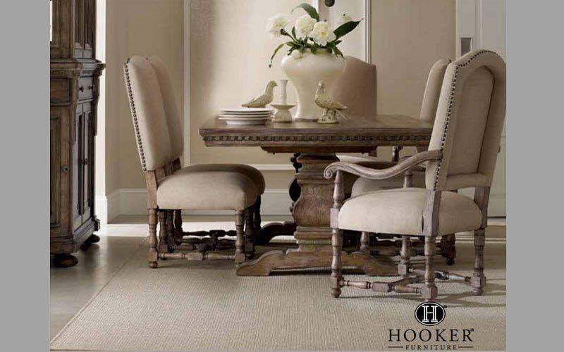 Hooker Furniture Mesa de comedor cuadrada Mesas de comedor & cocina Mesas & diverso Comedor | Clásico
