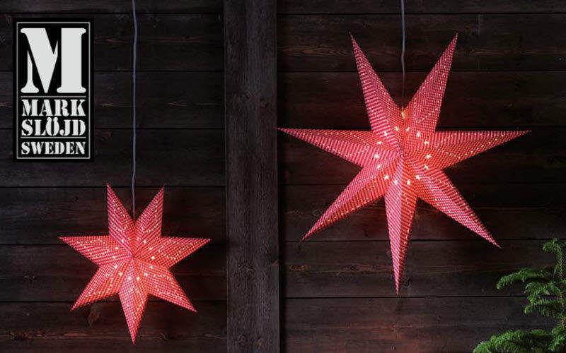 Markslöjd Estrella de Navidad Decoración y motivos navideños Navidad y Fiestas  |