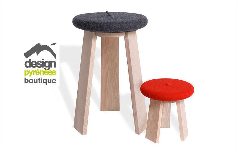 Design Pyrenees Editions Taburete Pufs y taburetes Asientos & Sofás   