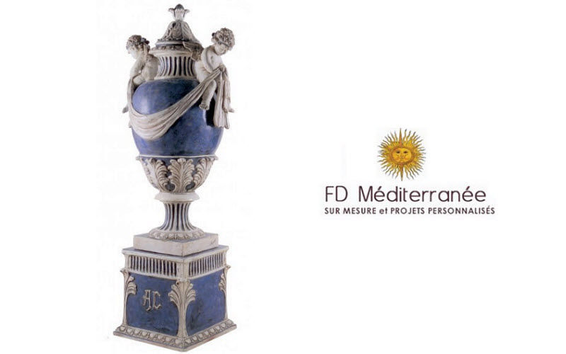 Fd Mediterranee Urna Estuches & recipientes contenedores Objetos decorativos  |
