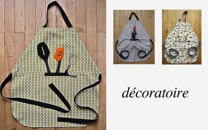DECORATOIRE Delantal de cocina Textil Cocina Accesorios  |