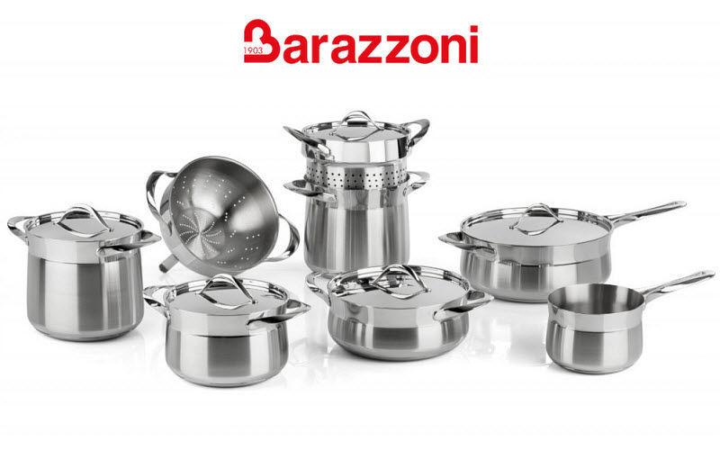 Barazzoni Batería de cocina Cacerolas Cocción  |