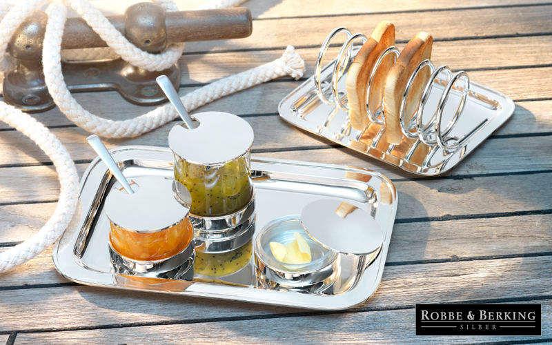 Robbe & Berking Portatostadas Set de accesorios de mesa Mesa Accesorios  |