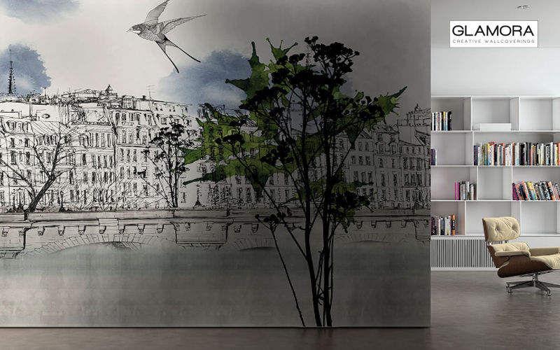 GLAMORA Papel pintado panorámico Papeles pintados Paredes & Techos  |