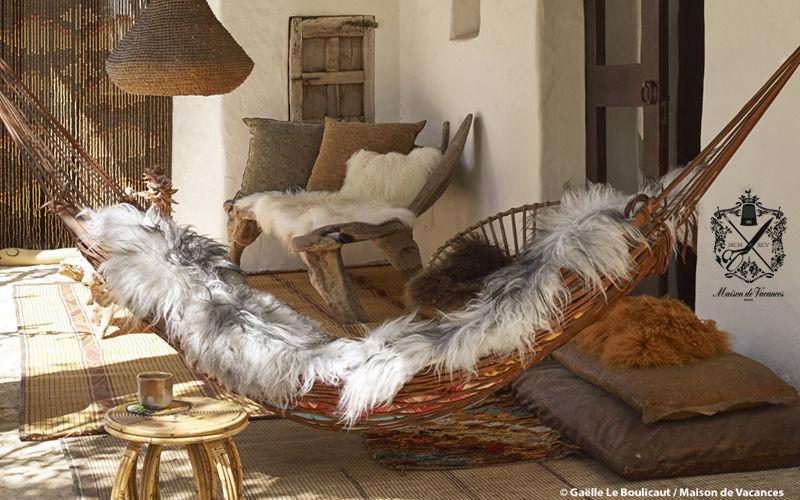 Maison De Vacances piel de animal Piel de animal Alfombras Tapices   