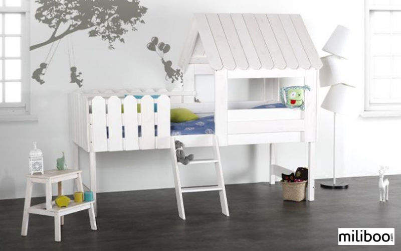 Miliboo Cama casa para niño Dormitorio infantil El mundo del niño   |