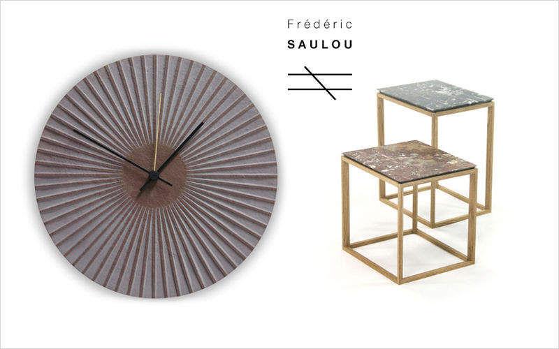 FREDERIC SAULOU Reloj de pared Relojes, péndulos & despertadores Objetos decorativos  |