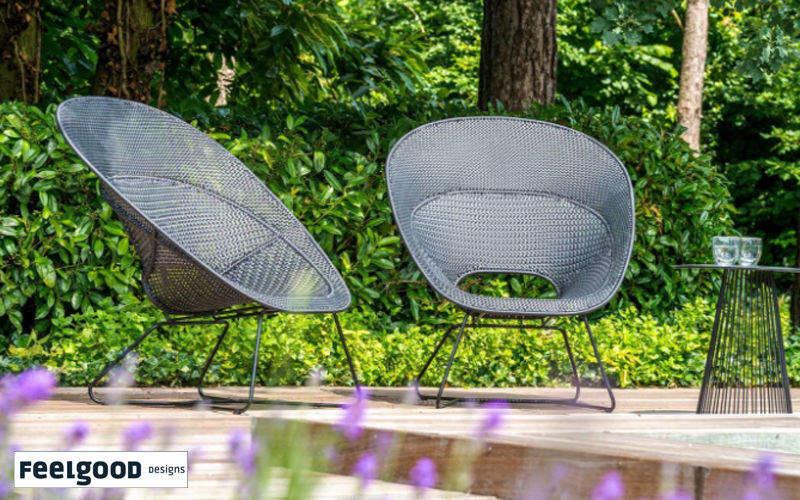 Feelgood Designs Sillón de jardín Sillones de exterior Jardín Mobiliario   