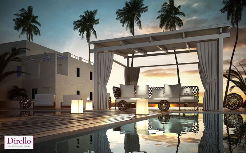 DIRELLO Cubierta para terraza Sombrillas y estructuras tensadas Jardín Mobiliario  |