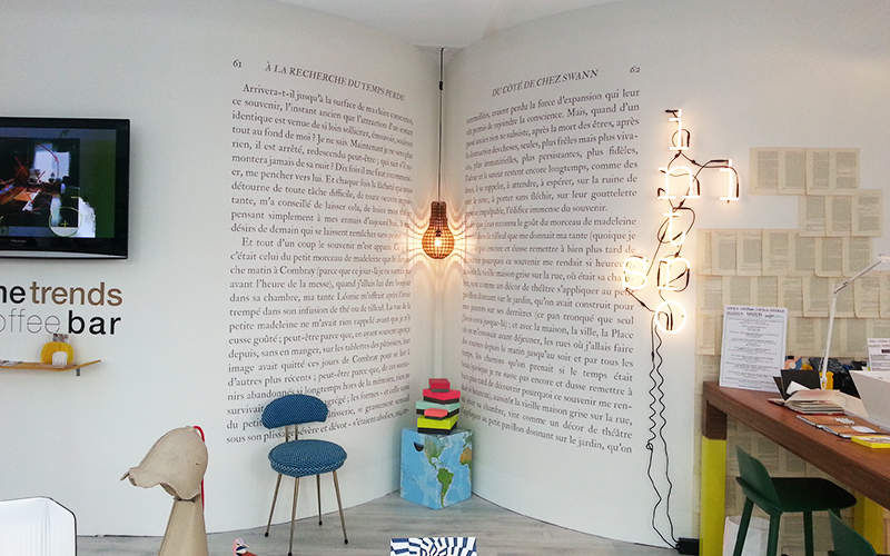 Ohmywall Papel pintado panorámico Papeles pintados Paredes & Techos  |