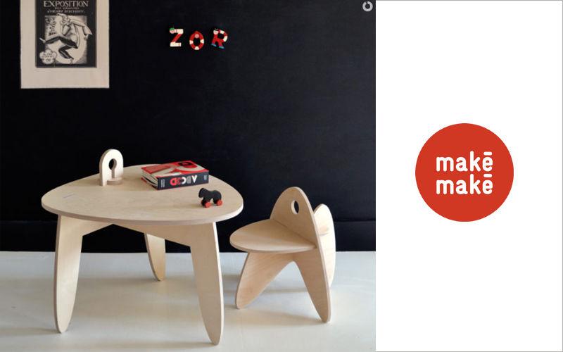 makémaké Mesa para niño Mesas y escritorios para niño El mundo del niño  |