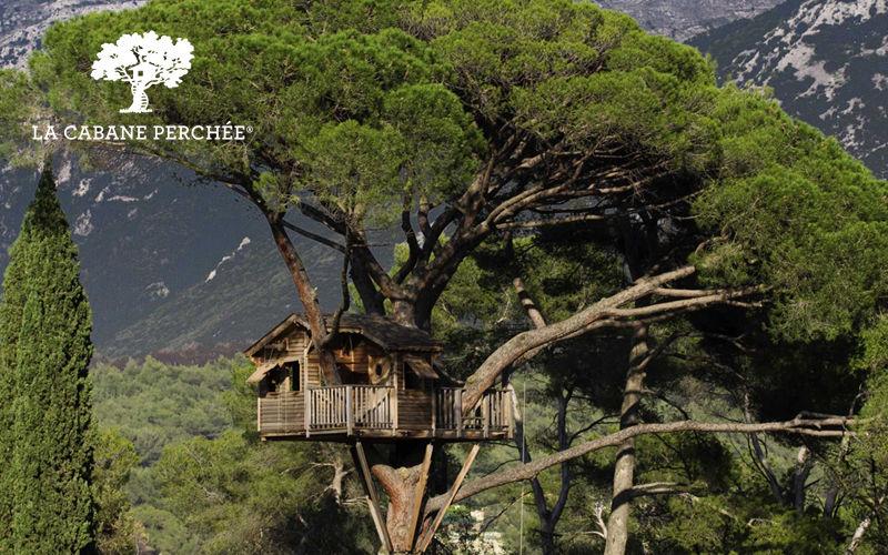 La Cabane Perchee Cabaña en árboles Casetas Jardín Cobertizos Verjas...  |