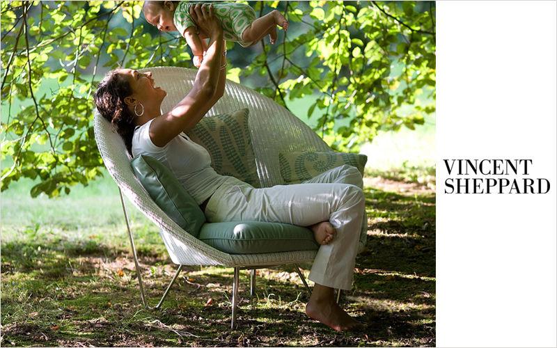 Vincent Sheppard Sillón de jardín Sillones de exterior Jardín Mobiliario   