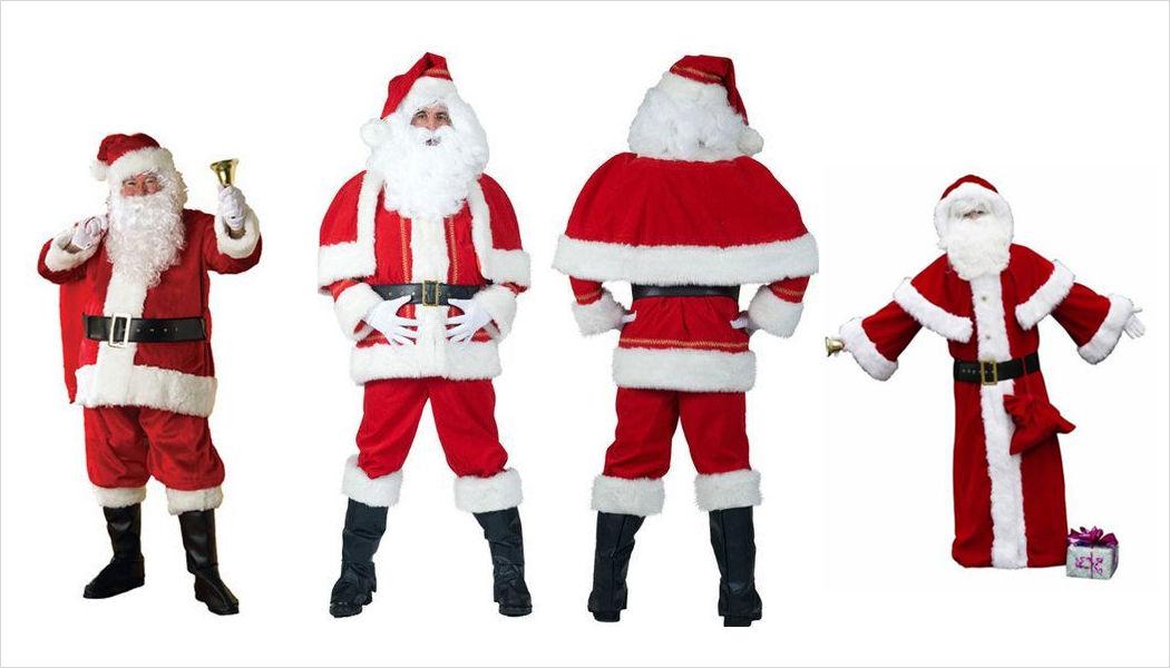 FIESTA FOLIES'S Disfraz de Papá Noel Decoración y motivos navideños Navidad y Fiestas  |