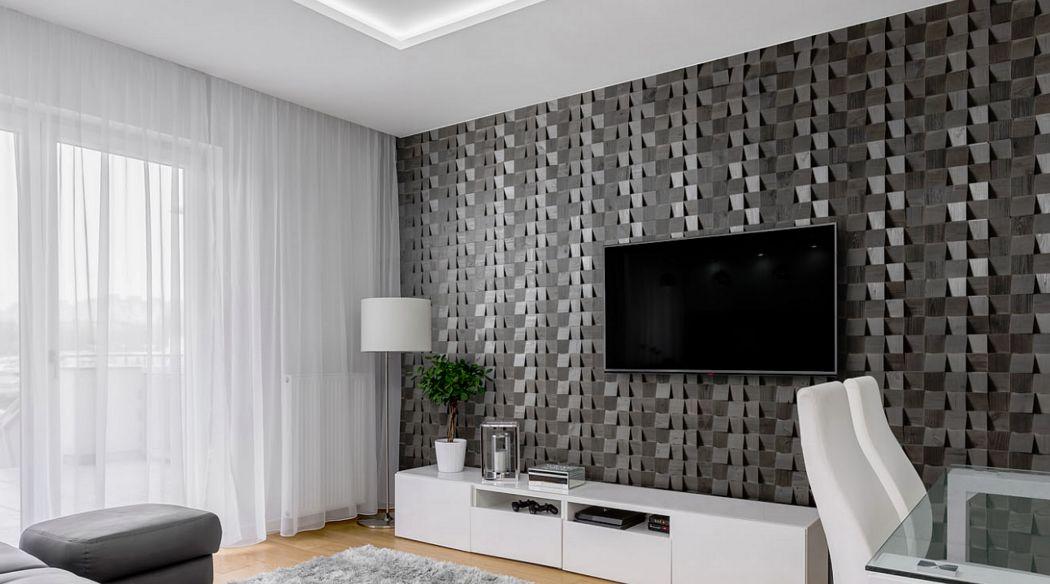 Wooden Wall Design Panel de ebanistería Revestimientos, artesonados y chapados Paredes & Techos  |