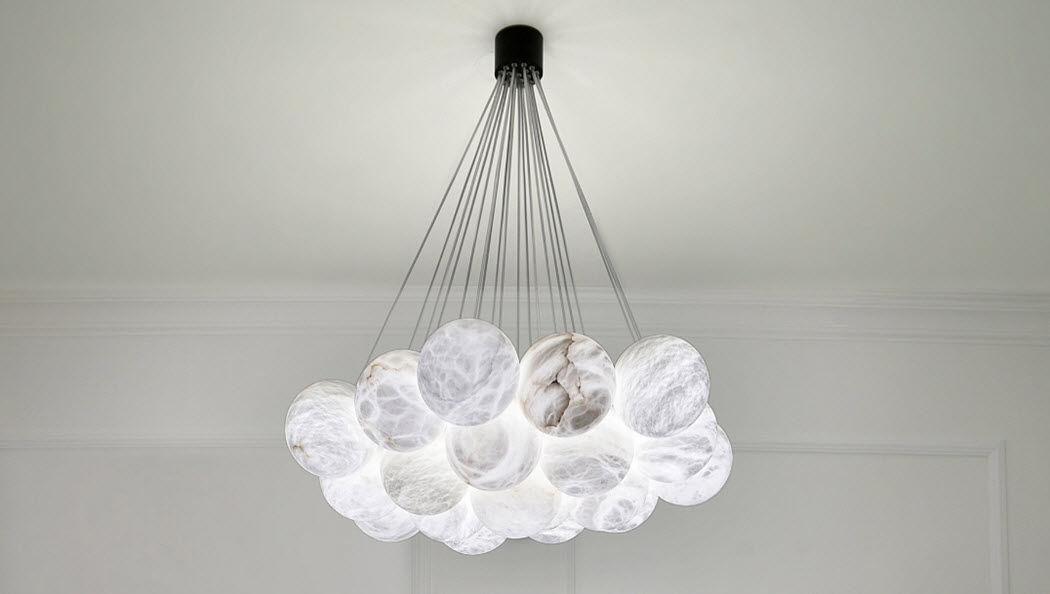 Atelier Alain Ellouz Araña Luminarias suspendidas Iluminación Interior  |