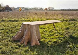 De Lussac Studio - table racines carré - Mesa De Comedor Rectangular