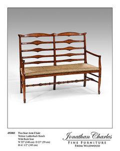 Jonathan Charles Fine Furniture Sillón provenzal de tres plazas