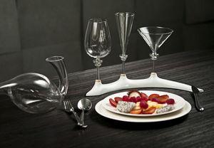 Waterwinewine Soporte aplique de vidrio