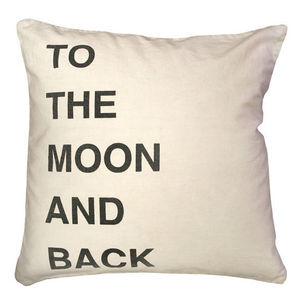 Sugarboo Designs - pillow collection - to the moon and back - Cojín Cuadrado