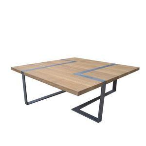 ATELIER MOBIBOIS - table basse vakt - Mesa De Centro Forma Original