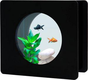ZOLUX - aquarium nano fashion noir 6 l 32.5x12.2x29.5cm - Acuario