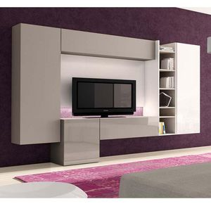 Antaix - meuble tv led - Mueble Tv Hi Fi