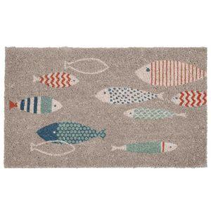 Maisons du monde - peixe - Alfombra Contemporánea